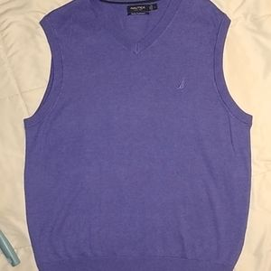 ⚡3/30$ Purple Nautica sweater vest